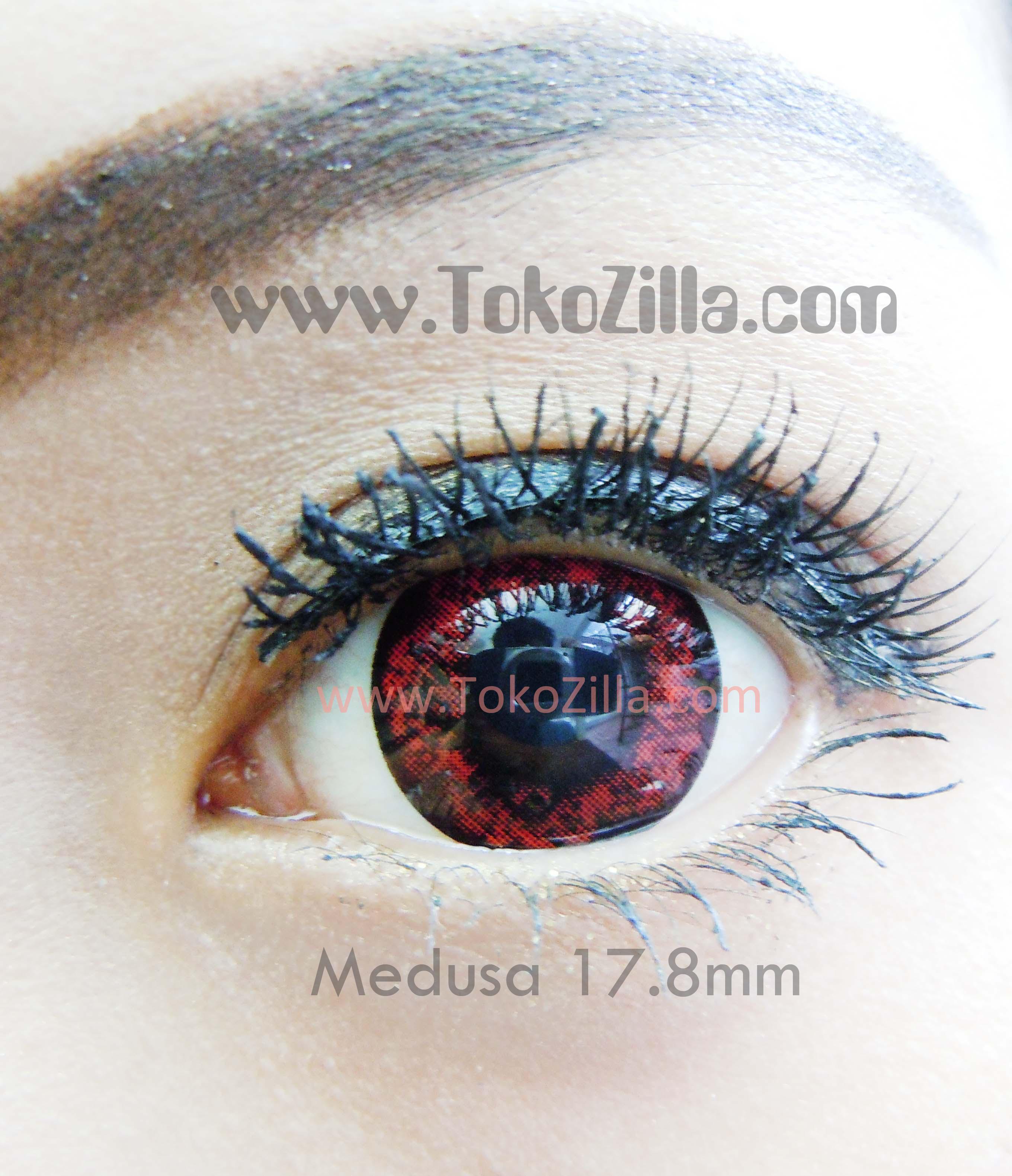 medusa 17.8mm_red burgundy