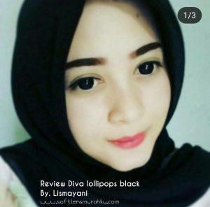 review diva lollipop black sis lismayani
