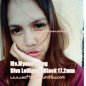 review diva lollipop black sis myane