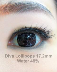 Softlens Diva Lollipops 17.2mm