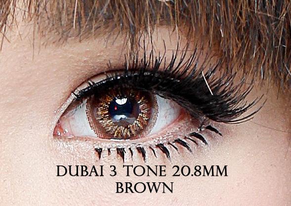 softlens dubai 3tone brown