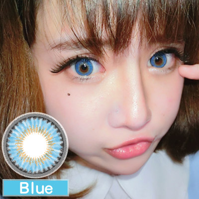 softlens EOS Rain Shower Blue