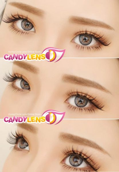 Softlens eos rainshower grey detail