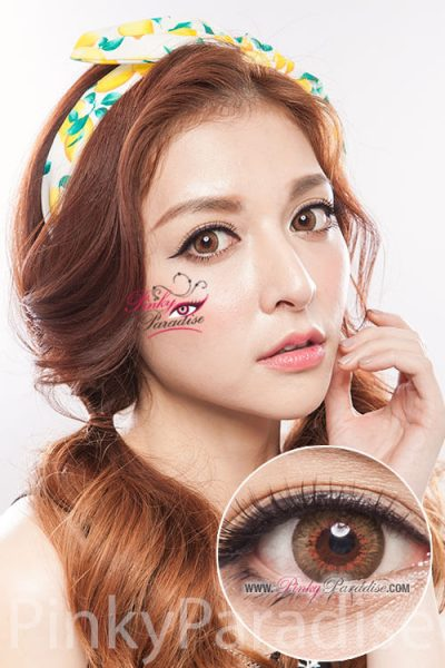 softlens puffy brown