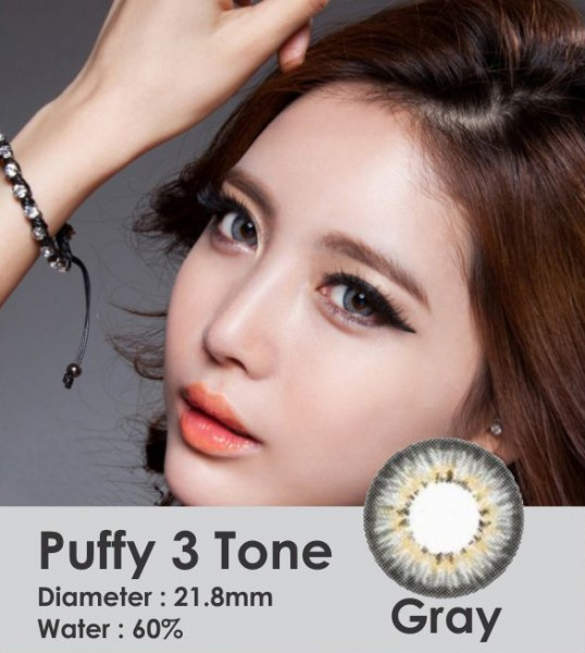 softlens puffy grey
