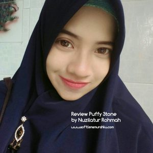 review puffy brown sis nuzilatur rohmah