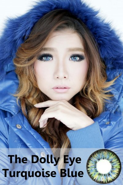 softlens dolly eye blue