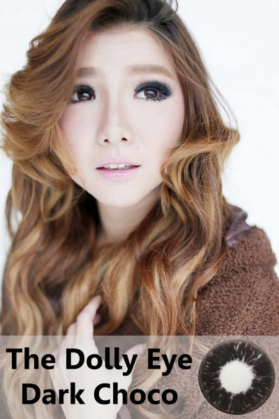 softlens dolly eye dark chocolate