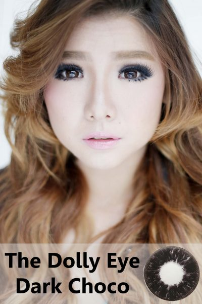 softlens dolly eye choco