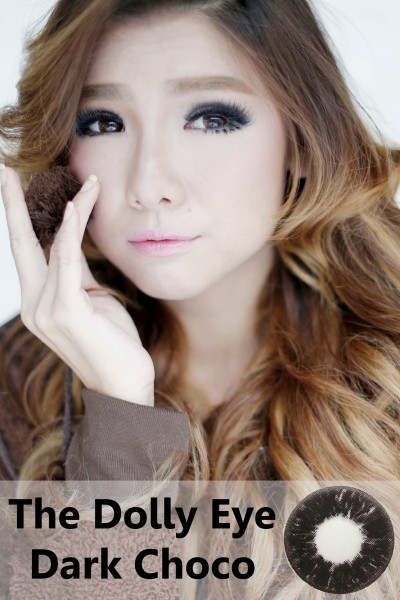 softlens dolly eye glamour choco