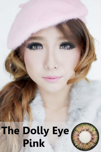 softlens dolly eye pink