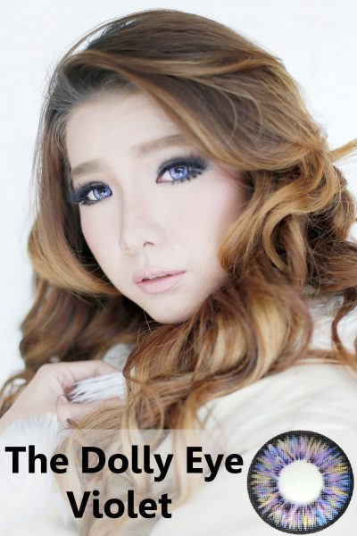 softlens dolly eye violet