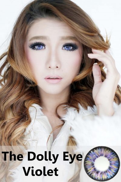 softlens dolly eye violet ungu