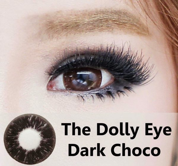 detail softlens dolly eye choco