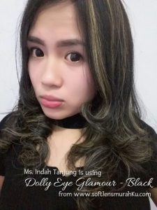 review dolly eye black sis indah tanjung 2