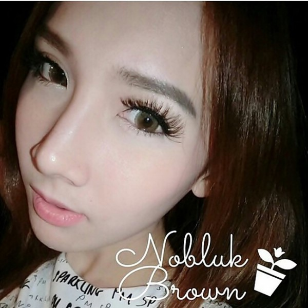 softlens nobluk brown