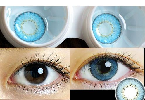eos briller blue softlens