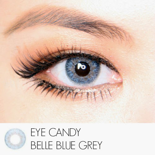 Softlens Eye Candy Belle GreyBlue