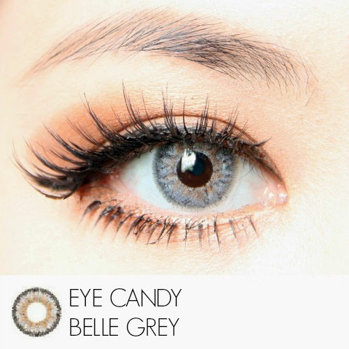 softlens eye candy belle grey
