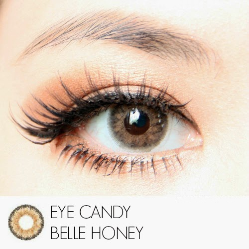 Softlens Eye Candy Belle Honey