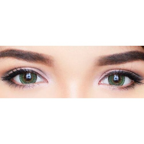 eos briller green softlens