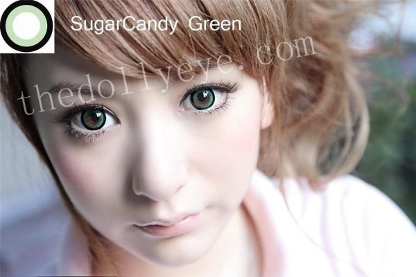 eos candy sugar green