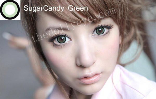 softlens eos candy sugar green