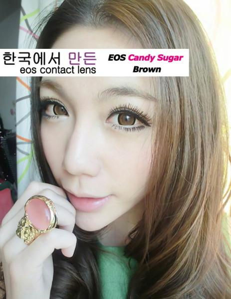eos candy sugar brown