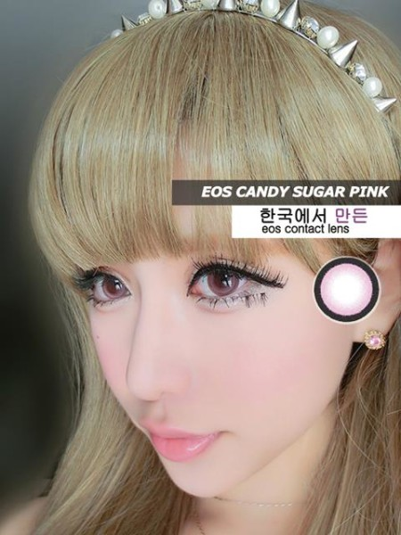eos candy sugar pink