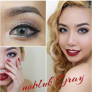 nobluk softlens grey