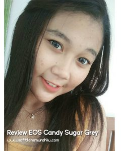 review eos candy sugar grey