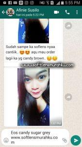 review eos candy sugar grey sis afnie