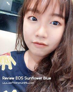 review eos sunflower blue