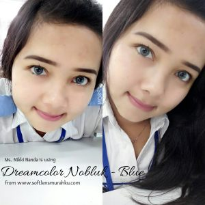 review nobluk blue sis nikki nanda