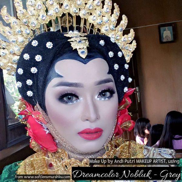 review nobluk grey by andi putri makeup artist