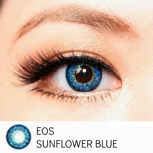 softlens eos sunflower blue