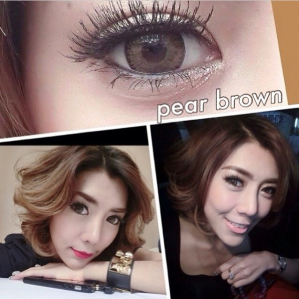 softlens dreamcolor / dreamcon pear brown