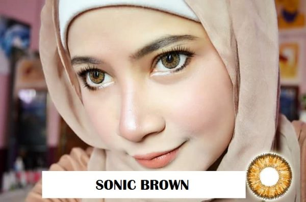softlens dreamcon sonic brown