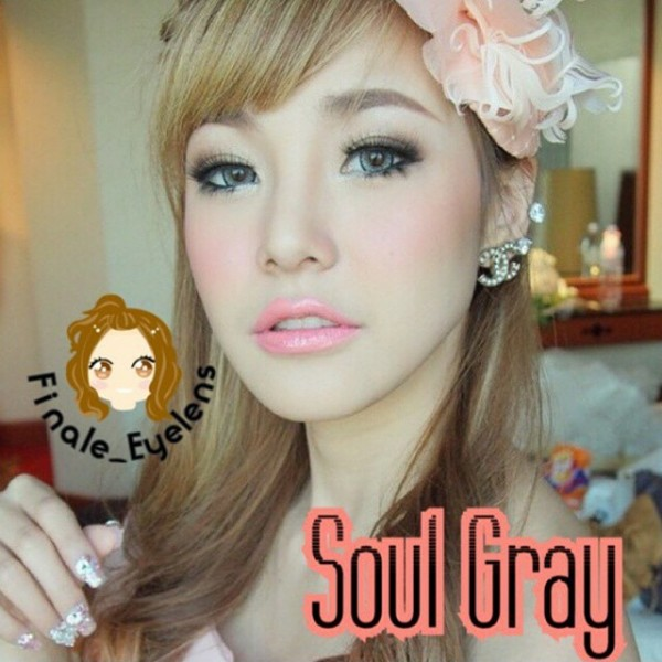 dreamcolor grey softlens
