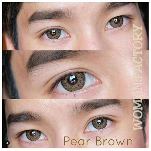 dreamcon pear brown softlens