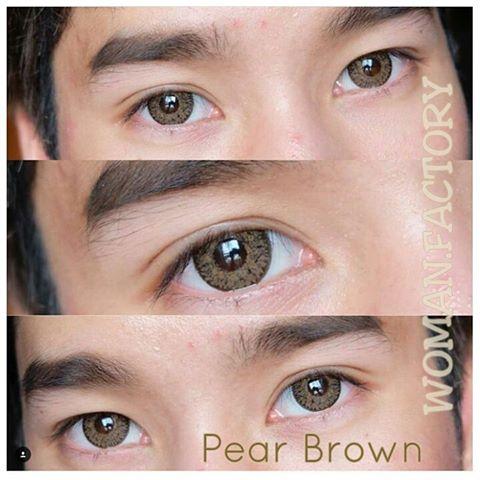 dreamcon pear brown softlens