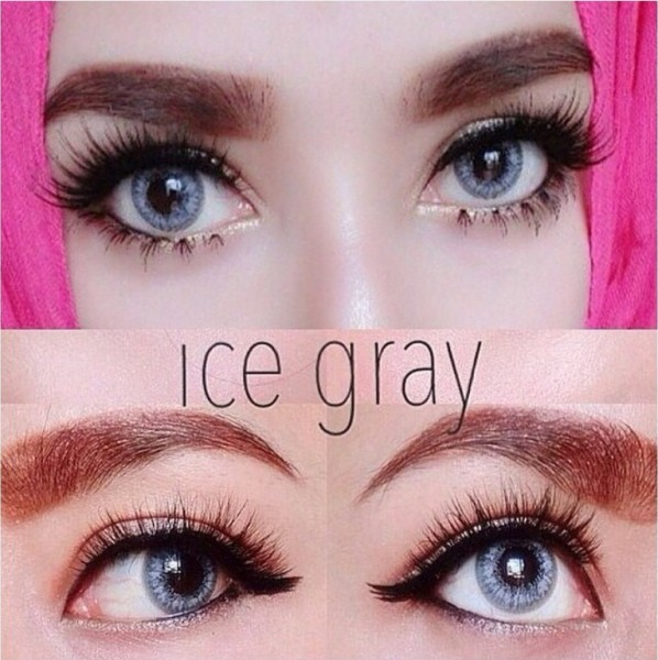 softlens dreamcolor ice gray