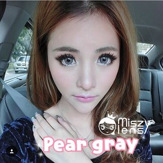 softlens pear grey dreamcon