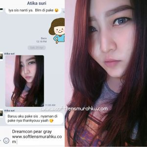 review pear grey sis atika suri