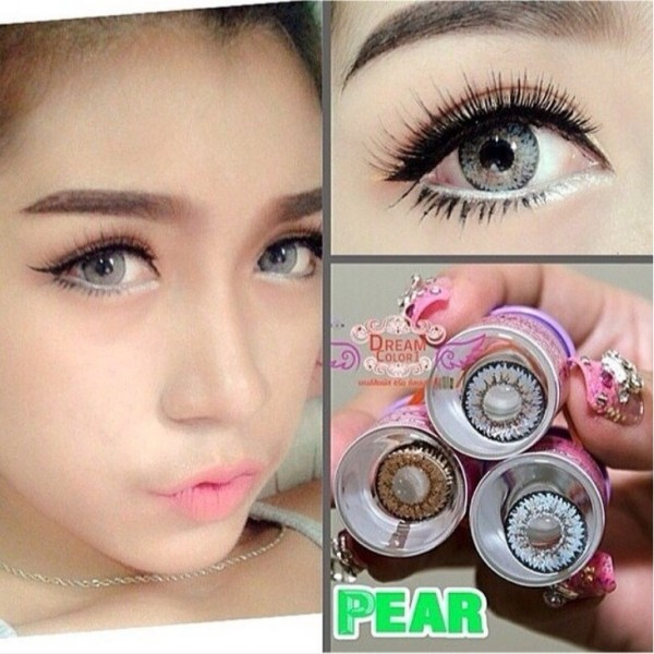 softlens dreamcolor / dreamcon pear gray