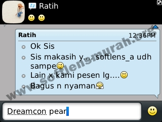 testimoni softlens dreamcolor dreamcon pear