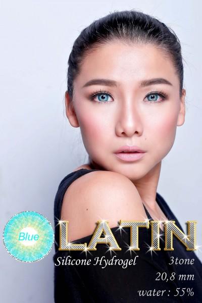 latin 3 tone blue