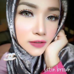 softlens latin brown 3 tone