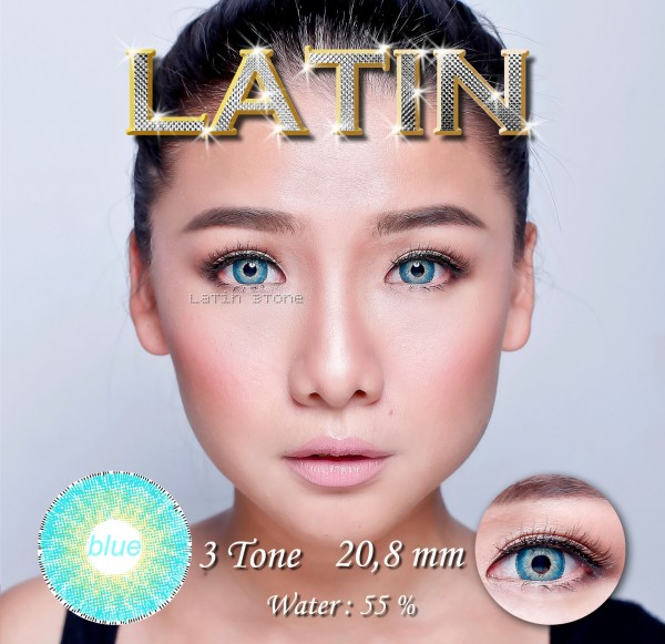 softlens latin blue