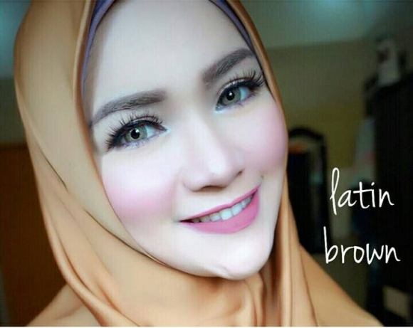 softlens latin brown 3 tone